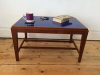 Mid Century Teak / Afromosia Coffee Table Perspex Top