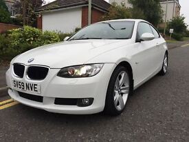 *12 MTHS WARRANTY*2009(59)BMW 320 DIESEL SE COUPE WITH ONLY 51,000 MILES FSH LOVELY EXAMPLE*