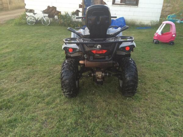 Used 2015 Can-Am 500 outlander L max