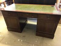 Reproduction Edwardian twin desk