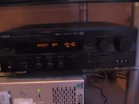 Yamaha AV digital amplifier tuner RXV496RDS