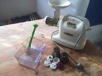 Matstone masticating juicer