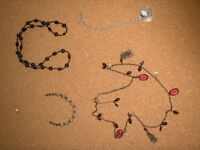 Four beautiful necklaces for sale