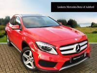 Mercedes-Benz GLA Class GLA220 CDI 4MATIC AMG LINE PREMIUM (red) 2016-03-24