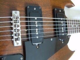 Gibson SG Pro electric guitar - USA - '71-'74 - walnut finish - P90s