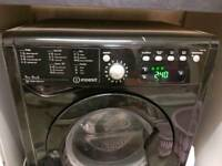 Indesit washer dryer in black