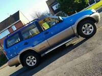 NISSAN TERRANO 7 seater 4X4 WITH 12MONTH MOT 82k