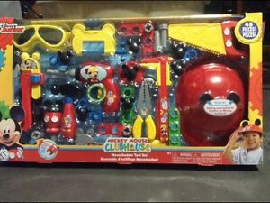Brand new Mickey Mouse tool set