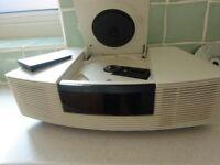 bose wave radio /cv Execelent condition very seldom used