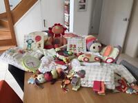 Mamas & Papas Jamboree baby nursery set