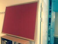 Displya Board - Red Cork hardly used 120 cm X 90 cm