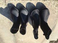Ladies scuba wet boots