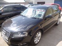 Audi A3 TDI Sport,5 dr hatchback,6 speed manual,FSH,full mot,1 owner from new,runs and drives as n