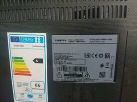 "Samsung 40"" 4k tv, spares or repairs."