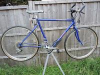 1989 TIMEWARP RUDGE FOLDING MOUNTAIN BIKE - 50CM STEEL FRAME - 18 SPEED SUNTOUR