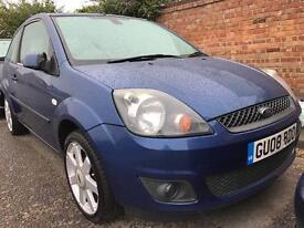 2008 Ford Fiesta 1.25 ZETEC blue edition