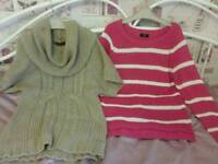 Jumpers size 10