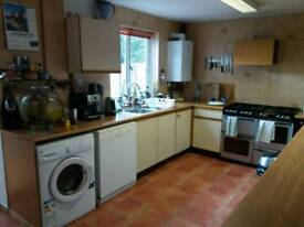 Double room furnished. All bills included. 500