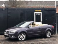 ★ FORD FOCUS CC 2.0 CONVERTIBLE + LEATHERS + 86K MILES ★