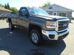2015 GMC SIERRA 2500HD Reg Cab 4WD 8' Box 6.0L Gas