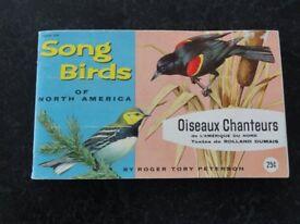 Album Of Song Birds Of North America. By Brooke Bond Canada Ltd.