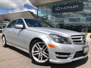 2013 Mercedes-Benz C-Class 300 4Matic Leather Sunroof Bluetooth