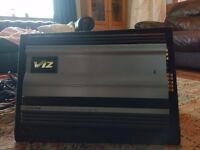 alpine v12 amp and alpine 10inch sub boxed