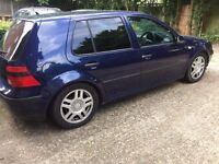 vw golf mk 4,1999,lowered,alloys,1.6 engine,starts and drives well,£300,no offers,cheap car