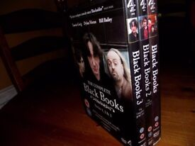 Black Books complete DVD box set