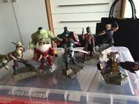 Disney infinity for Xbox 360 with 9 further figures