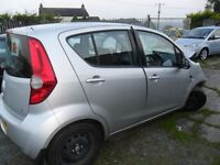 voxhall agila 1.2 parts from 2012 car 5 door silver 6000 miles