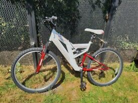 Full Supension Maxima Dart Mountain Bike