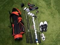 Gull junior golf kit.