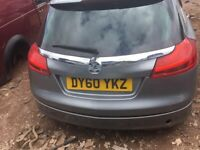 VAUXHALL INSIGNIA ESTATE 2.0 DIESEL 2011 BREAKING FOR PARTS SPARES AND REPAIRS
