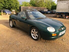 MG MGF CONVERTIBLE CABRIOLET 1.8 STARTS RUNS GEAR LINKAGE FAULT 120K £300