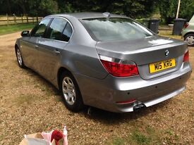 auto 525d e60 5 series BMW PRIVATE PLATE new tyres upgraded xenons