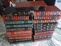 beautiful twenty encyclopidia style vhs video cassettes boxes,very nice,all twenty £9,stanmore,middx