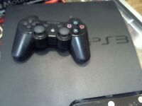 SONY PS3 250GB, HAS LEADS AND CONTROLLER, FULL 6 MONTHS WARRANTY