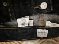 CK Jeans dark blue heavy denim 34 inch waist 32 inch inside leg