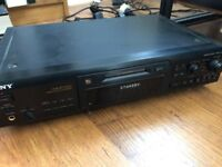 Sony Mini Disc Player Separate *Includes Mini Discs