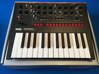 Korg Monologue analogue synth - black
