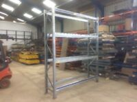 4 TIER HEAVY DUTY INDUSTRIAL WAREHOUSE PALLET RACKING UNIT BAY