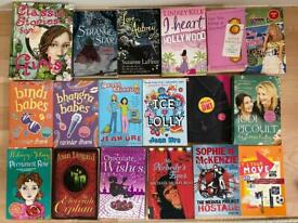 18 Girls books