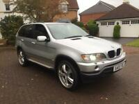 Stunning BMW X5 sport 3ltr diesel automatic sat nav big wheels leather high spec