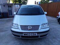 2003 Volkswagen Sharan 1.9 TDI PD Carat 7 Seater MPV