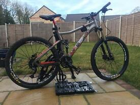 "Voodoo 18"" Full Suspension Mountain Bike"