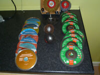 angle grinder discs plus wire brushes