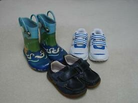 TRAINERS, WELLIES AND SHOES - SIZE 6 - BARGAIN PACKAGE