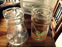 2 x water jugs