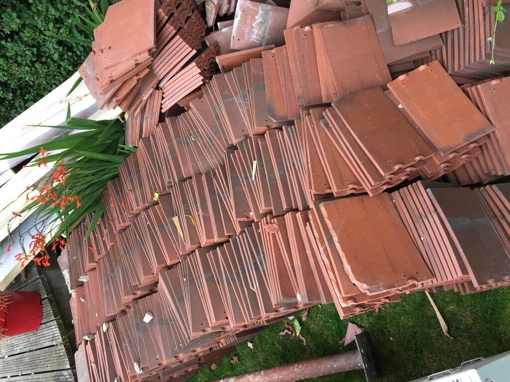 Approx 600 Rosemary Roof Tiles Reclaimed Less Than